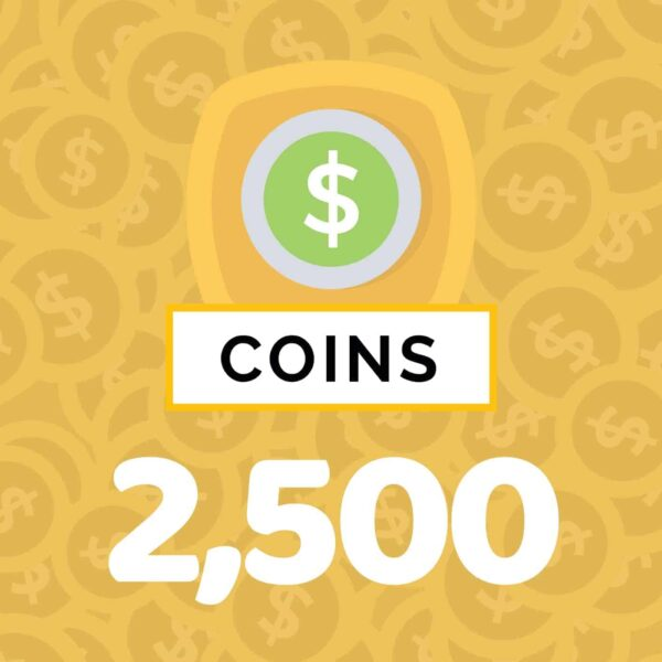 2,500 Self Care Coins