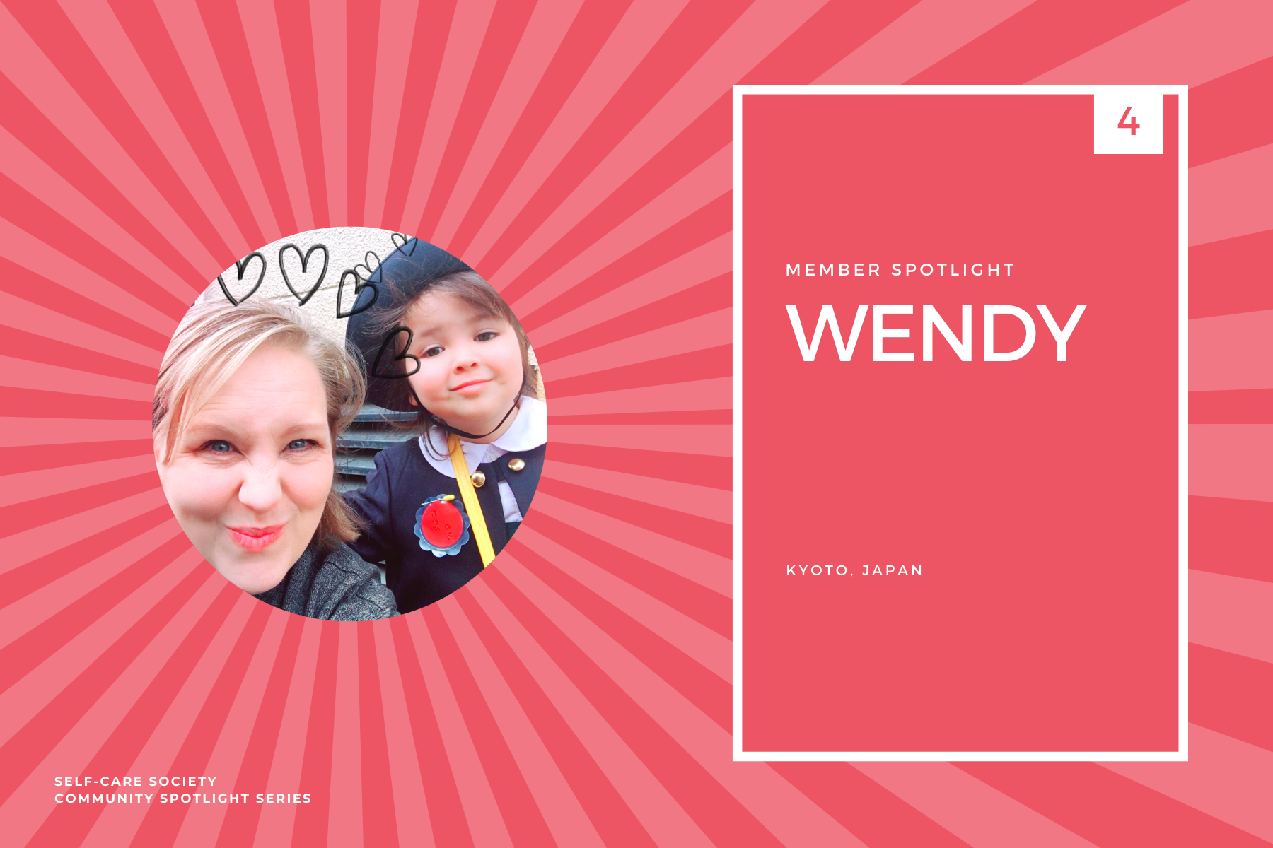 Self-Care Community Spotlight - Wendy