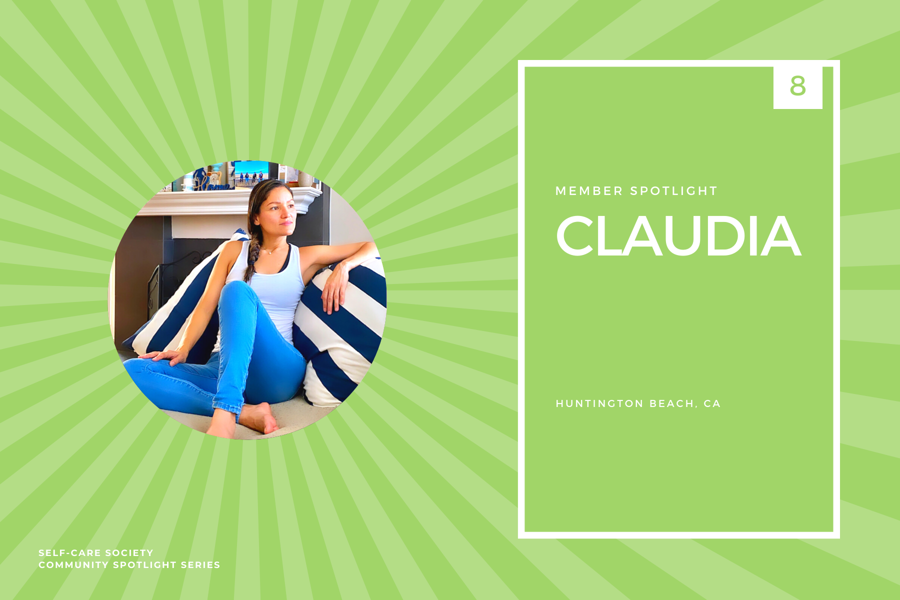 Self-Care Community Spotlight - Claudia